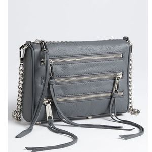Rebecca Minkoff Mini 5 Zip convertible crossbody